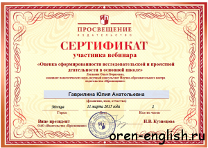 28 сертификат
