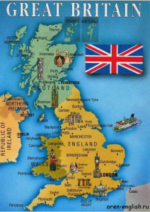 The Geographical Position of Great Britain