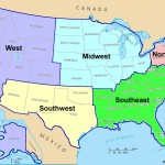 The Geographical Position of the USA